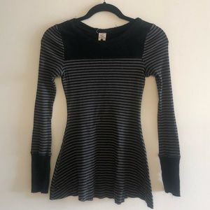 Free People Striped Tunic SZ M